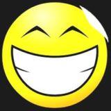senyum dan tawa